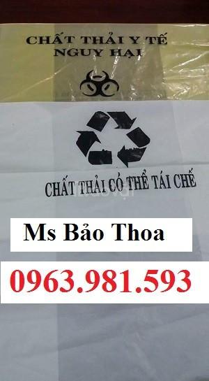 Túi đựng rác y tế, túi đựng rác, túi rác y tế giá rẻ