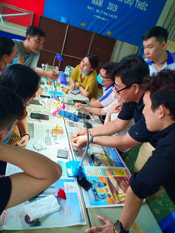 Đào tạo kỹ năng mua bán - cầm đồ - kinh doanh vàng - Ngày 02/05/2019
