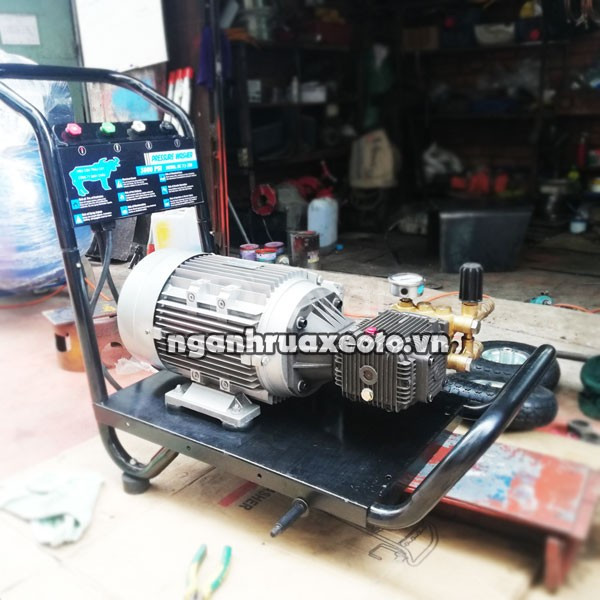 Máy rửa xe cao áp 1 pha hoặc 3 pha