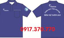 Làm áo mùa hè xanh 2019, in logo theo yêu cầu đơn vị nhà tài trợ