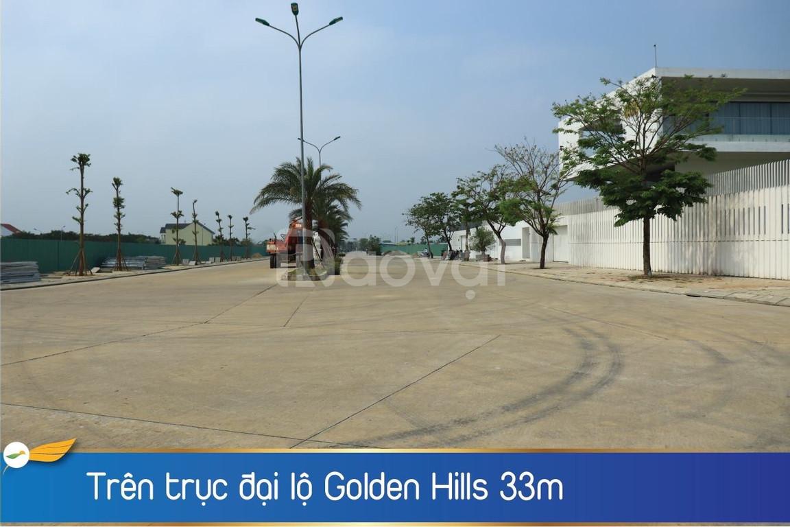 Shop House Golden Hill, chỉ 32tr/m2, đường 33m