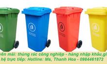 Thùng rác công cộng, thùng rác công nghiệp, thùng rác y tế