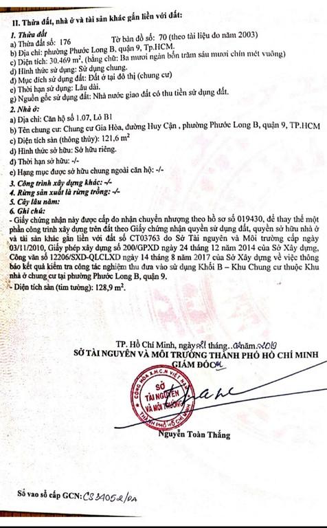 Định cư NN bán Shophouse CC Gia Hòa, DT 128m2 đg ĐXH, Q9, giá 4.5tỷ