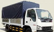 Xe tải Isuzu 2T7 thùng bạt - QKR77HE4, thùng 4m3, xe có sẵn