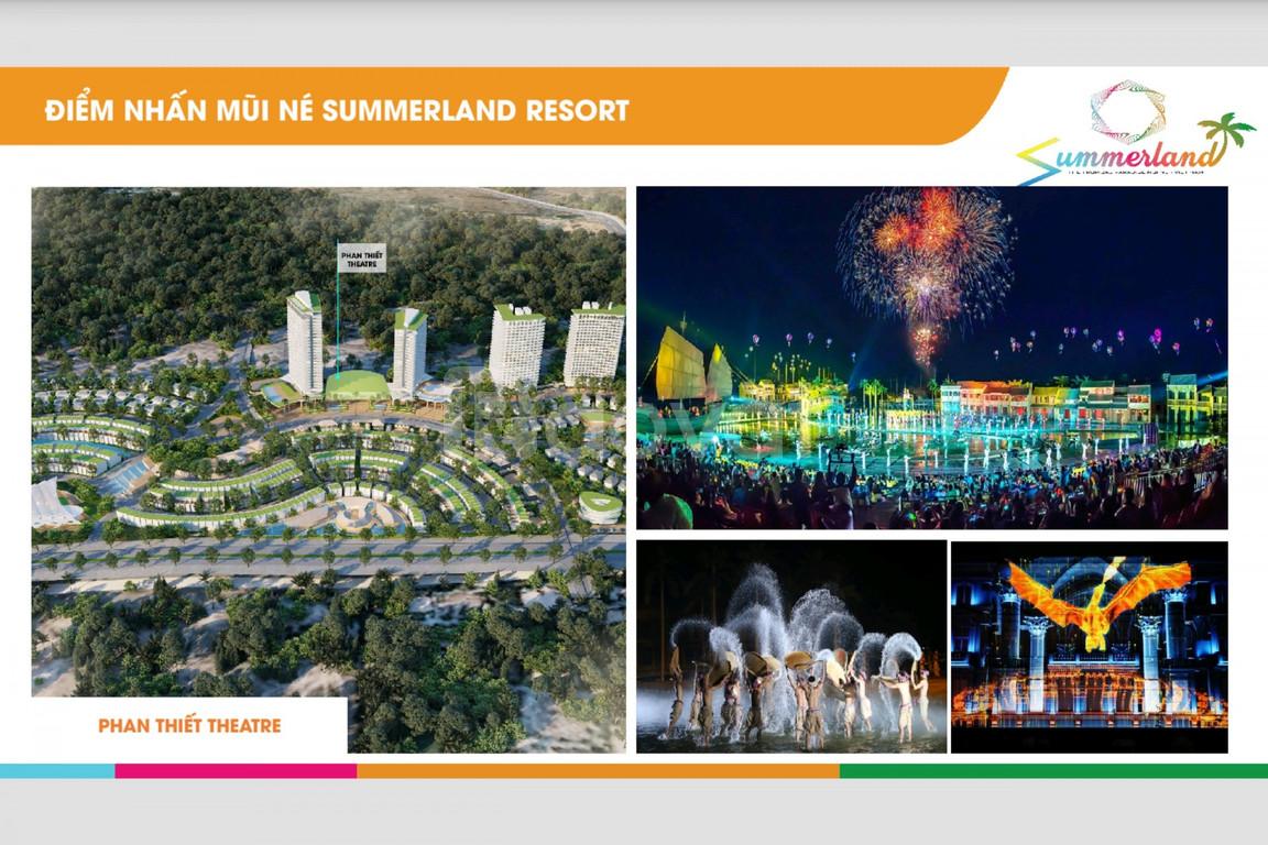 Thiên đường nghỉ dưỡng cao cấp Summer Land Phan Thiết