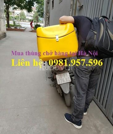 Thùng chở đồ ăn, ship hàng, thùng giao hàng tại Hà Nội