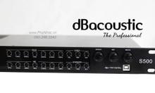 Vang số S500 dB acoustic chỉnh cơ, Optical, Bluetooth đầy đủ