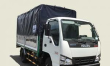 Xe tải Isuzu 1T5 thùng mui bạt QKR77FE4, thùng 3m6, 462 triệu