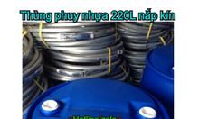 Phuy nhựa 220l