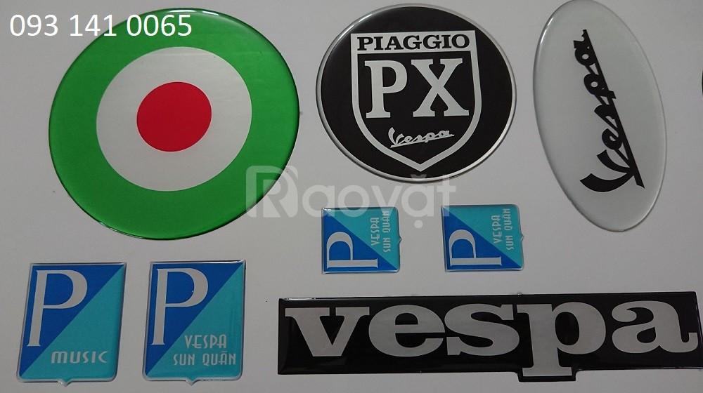 In sticker phản quang phủ epoxy số lượng ít