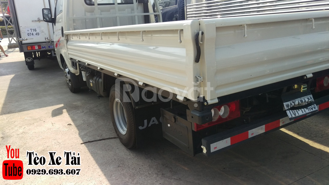 Jac x5 thùng lững | Xe tải Jac - Jac 1.25 tấn thùng lững 3m2