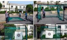 Lồng tập golf vuông 3m tặng kèm thảm swing 1m