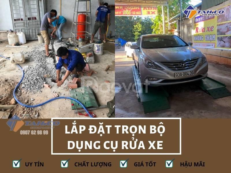 Lắp đặt trọn bộ thiết bị rửa xe chuyên nghiệp