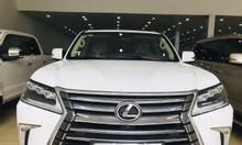Bán Lexus LX570 màu trắng, nhập Mỹ, đăng ký 2016, full lăn bánh