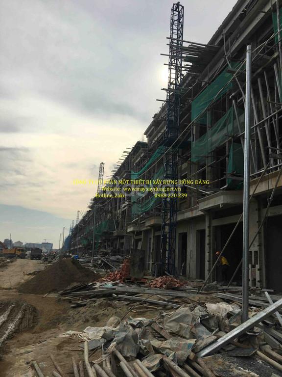 Thang nâng hàng xây dựng 500kg giá tốt tại Hà Nội