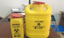 Hộp nhựa chuyên dùng đựng hủy kim tiêm, các vật sắc nhọn trong y tế