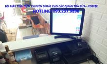 Lắp đặt máy tính tiền cho quán trà sữa giá rẻ tại Bạc Liêu
