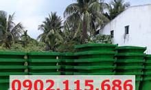 Thùng rác nhựa 240L, thùng rác 240L có bánh xe, thùng rác 240L