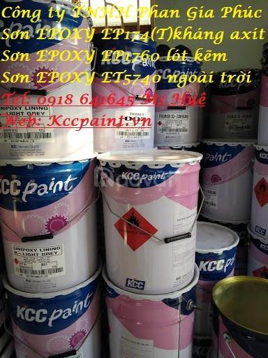 Sơn Epoxy kcc kháng hóa chất, sơn chịu axit, sơn chống axit, mua Epoxy