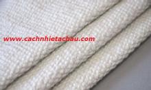 Vải ceramic cách nhiệt 1260 độ C,chống cháy, có sợi thép cường lực