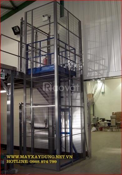 Thang nâng hàng - Công ty Hồng Đăng sản xuất