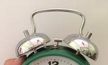 Đồng hồ báo thức cơ khí chính hãng chim bồ câu trắng