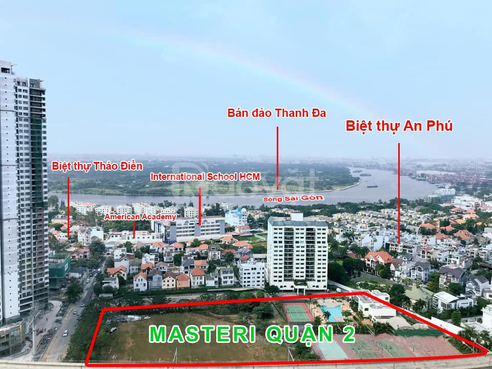Nhận booking dự án Masteri ParkLand, Thảo Điền, quận 2