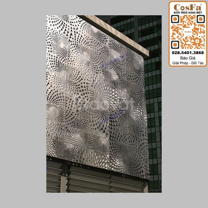 Mặt dựng nhôm kính hệ Stick và mặt dựng nhôm Facade trang trí (ảnh 1)