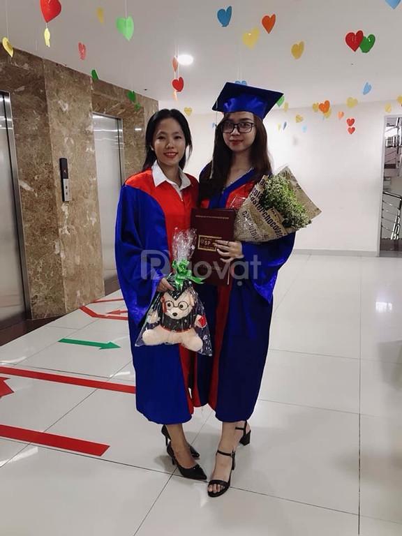 Xưởng may nón tốt nghiệp, lễ phục tốt nghiệp học sinh
