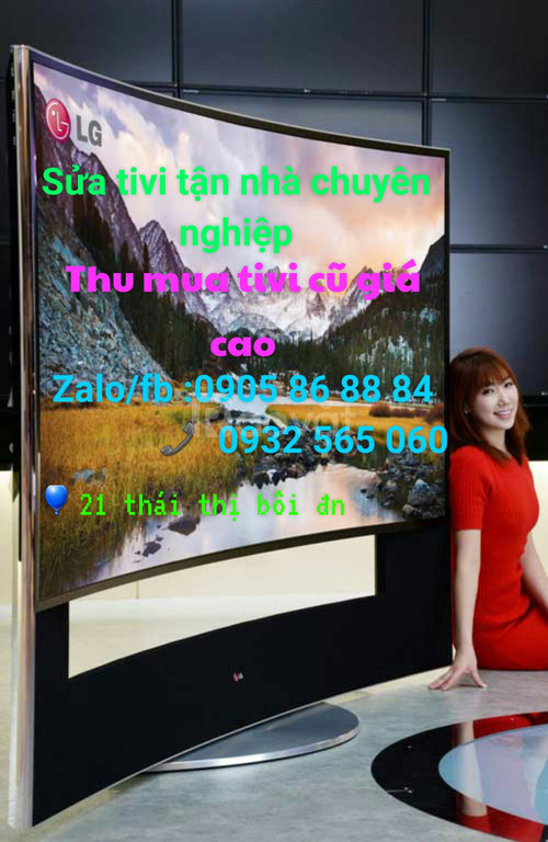 Sửa tivi tận nhà quận Liên Chiểu
