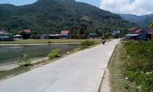 Lô đất 2 mặt tiền đường ôtô bêtông 6m (QH12m) DT 510 m2