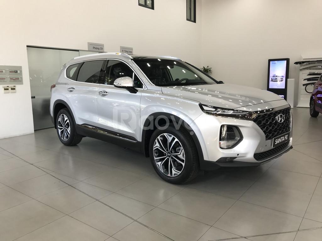 Hyundai SantaFe 2019, Dầu đặc biệt, màu Bạc, Hyundai An Phú