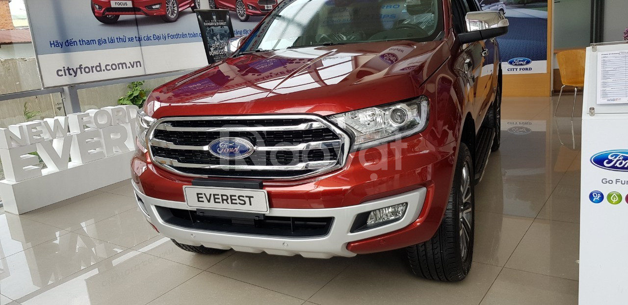 Ford Everest mới, tặng ngay phụ kiện giá trị, gọi ngay Xuân Liên