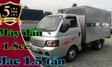 Jac x5 thùng kín | Xe tải Jac - Jac 1.5 tấn thùng kín dài 3m2