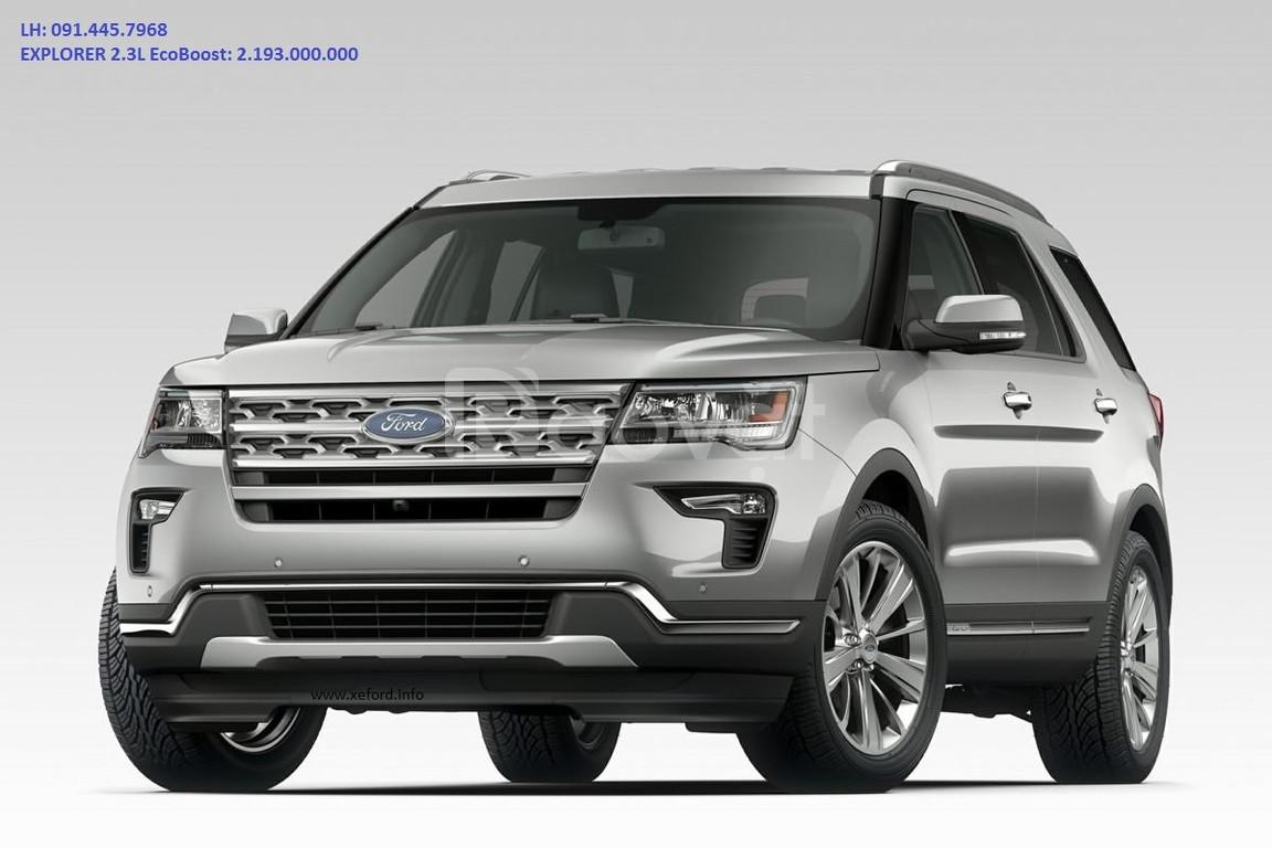 Ford Explorer giao ngay đủ màu