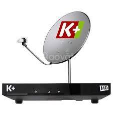 Giá bán, lắp đặt truyền hình vệ tinh K+ tại Hà Nội rẻ
