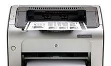 Máy in laser trắng đen, Hp 1006, máy in chính hãng giá rẻ