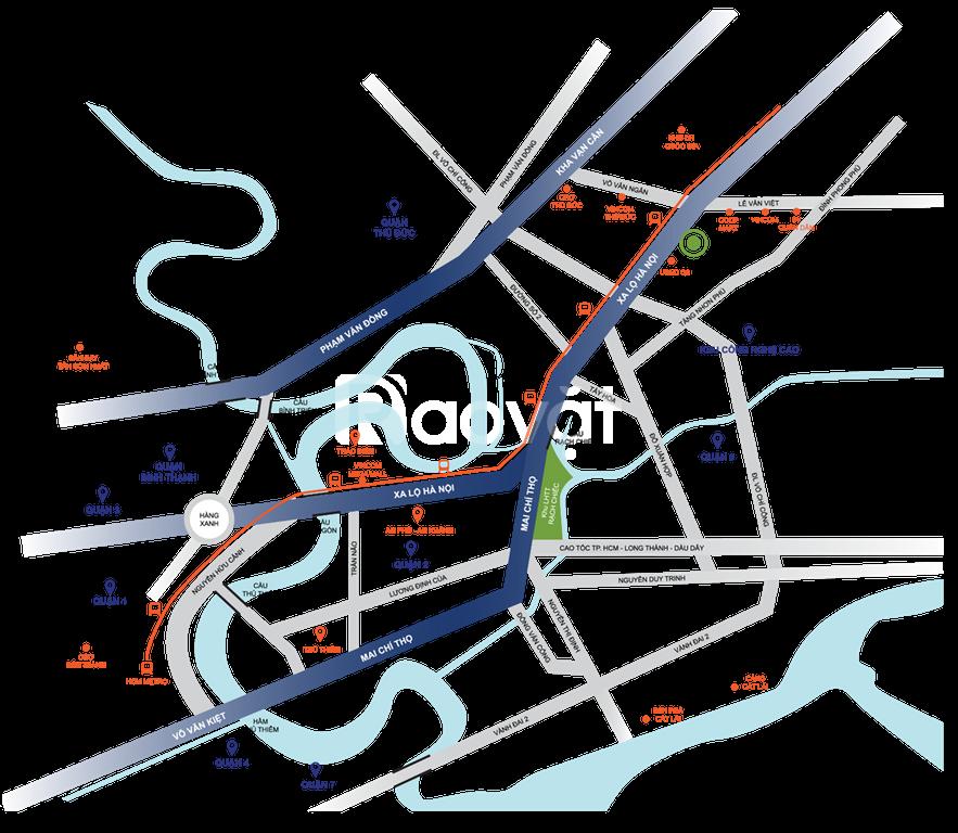 Căn hộ Saigon Getway Q9 chưa bao giờ hết