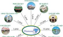 Bán đất nền khu đô thị Diamond City.