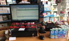 Máy tính tiền giá rẻ dùng cho cửa hàng bách hóa tại Bến Tre