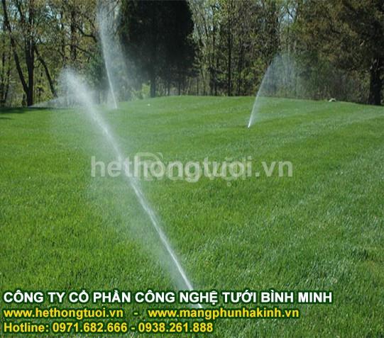 Tưới cảnh quan, tưới cảnh quan sân vườn, hệ thống tưới cỏ, vòi phun