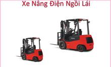 Xe nâng điện ngồi lái 1600kg, xe nâng điện ngồi lái 2000kg