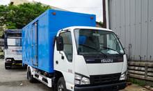 Bán xe tải isuzu QKR230 màu trắng, thùng kín, tải 1.9 tấn