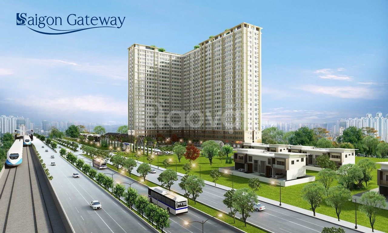 Bán căn hộ Saigon Getway Quận 9, 55m2, 2PN