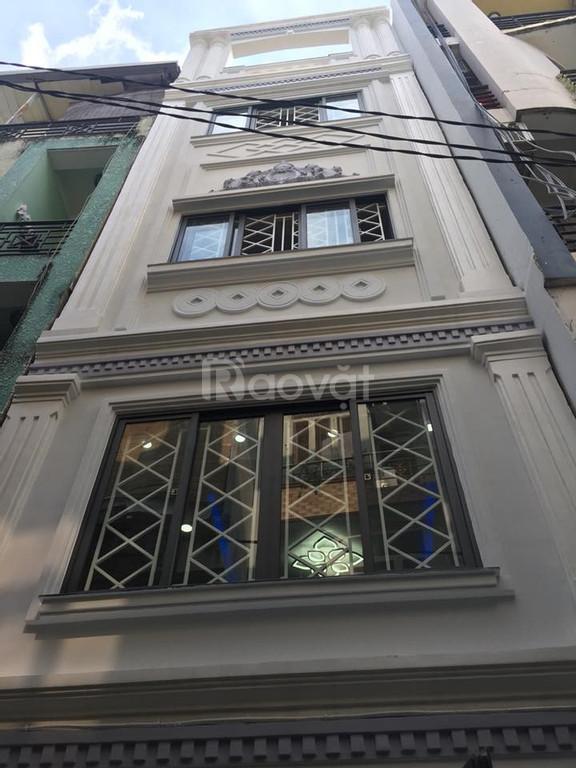 Gia đình bán nhà 5 tầng, ngang 4m, giá 5,9 tỷ, Lê Văn Sỹ, Quận 3.