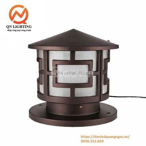 Đèn trụ cổng tròn kiểu nhật ML-C0334