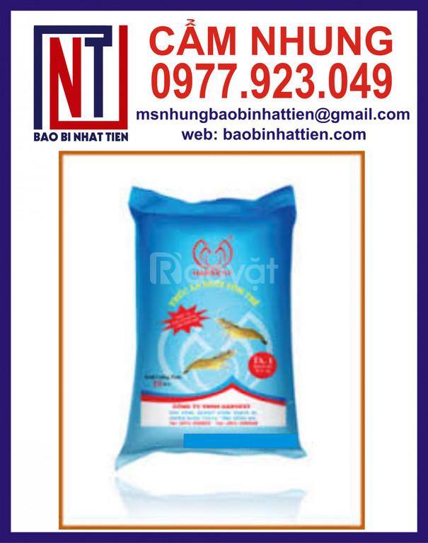 Bao bì thức ăn thủy sản in ống đồng