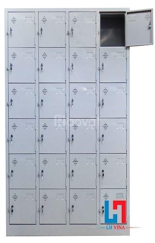 Tủ sắt locker 24 ngăn giá rẻ