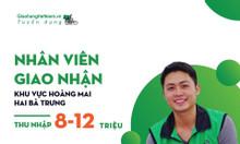 Tuyển gấp nhân viên giao hàng các quận Hà Nội