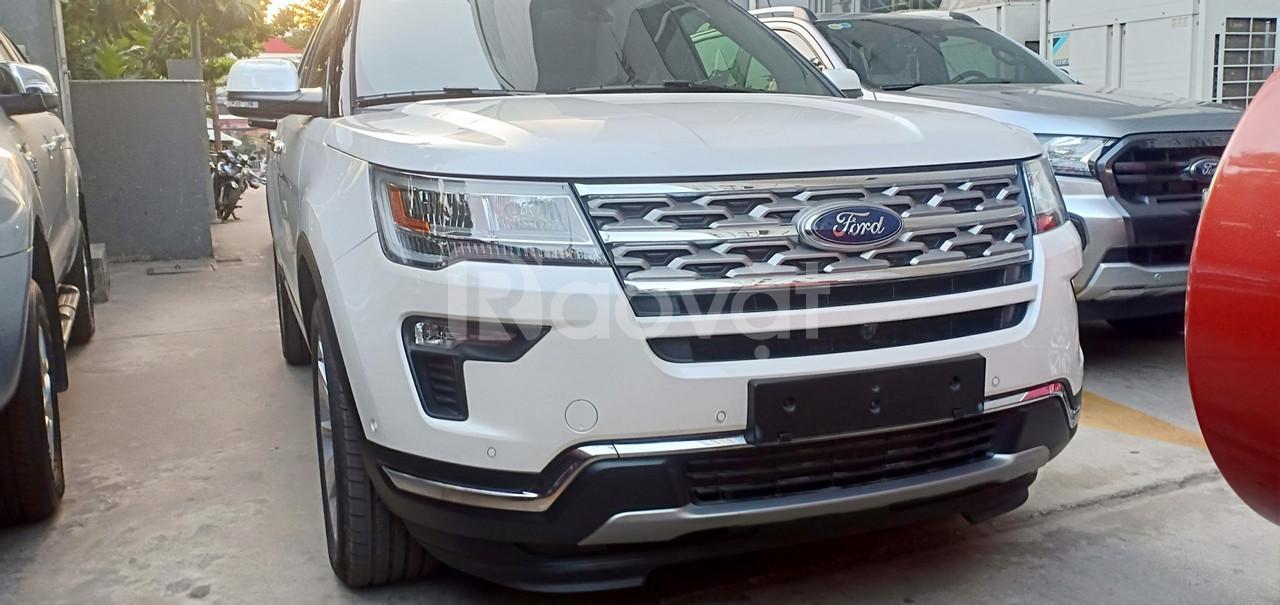 Ford Explorer mới, ưu đãi phụ kiện, dán phim cách nhiệt 3M
